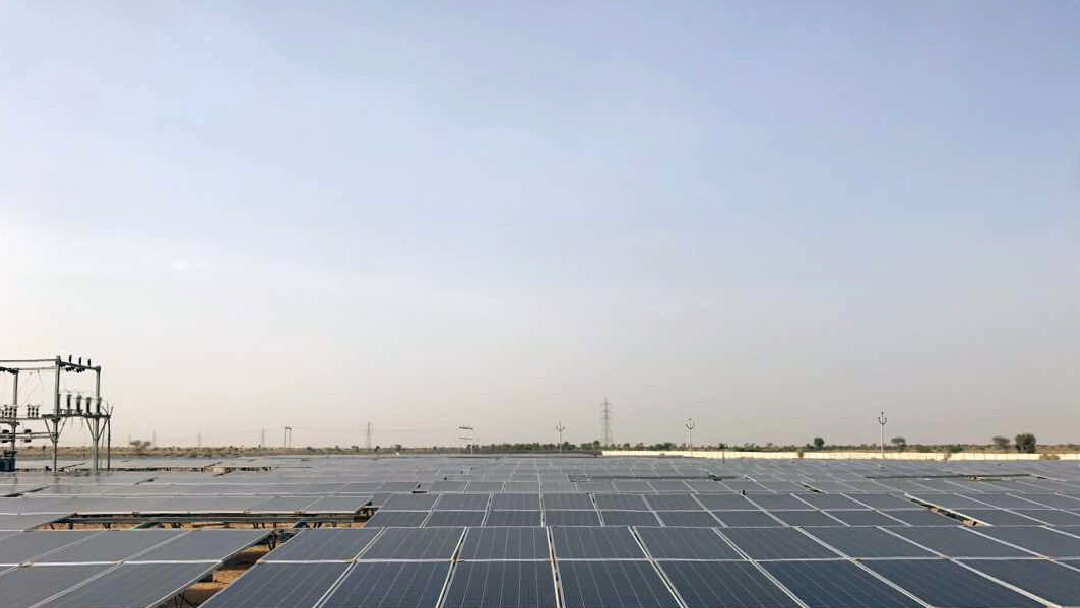4 Mega Watt Solar Power Plant