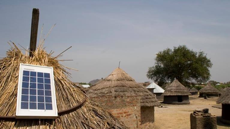 Solar Powered Village Houses