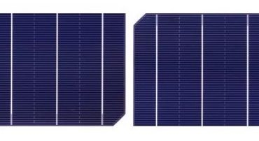 Half-Cut Solar cells design
