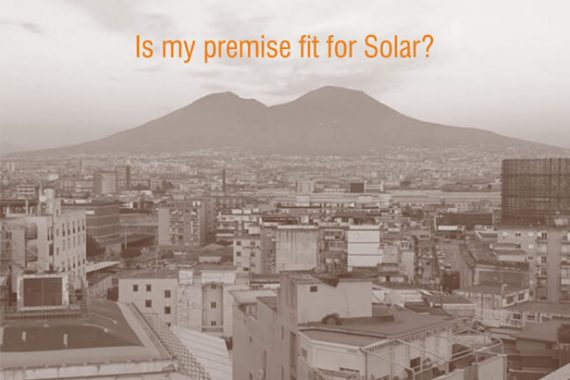 Is my premise right for solar?