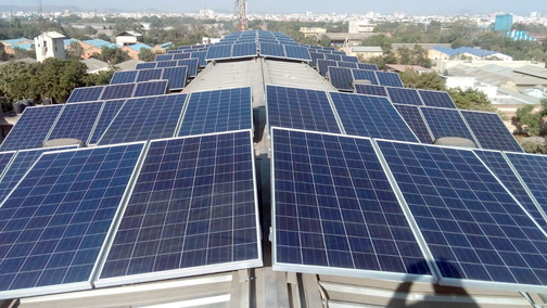 Natural Stone Industry and Solar