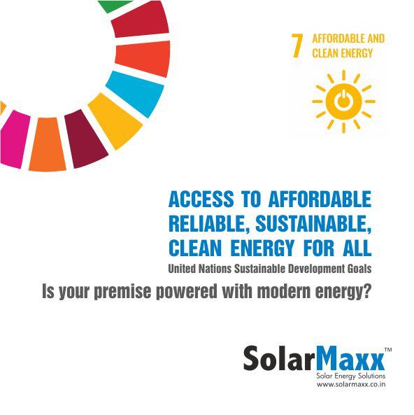 UN SDG: Affordable & Clean Energy